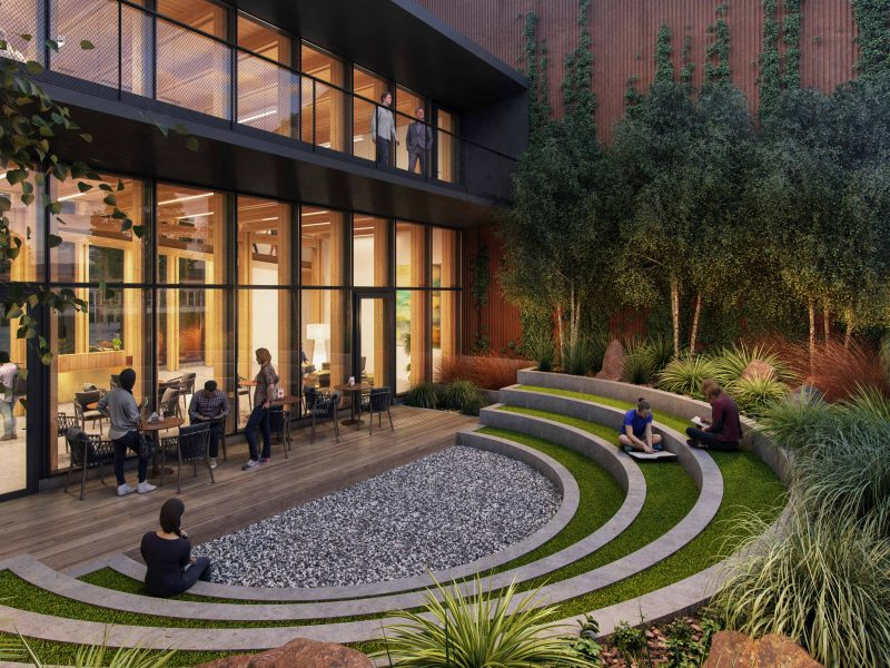 Redfox Commons Courtyard