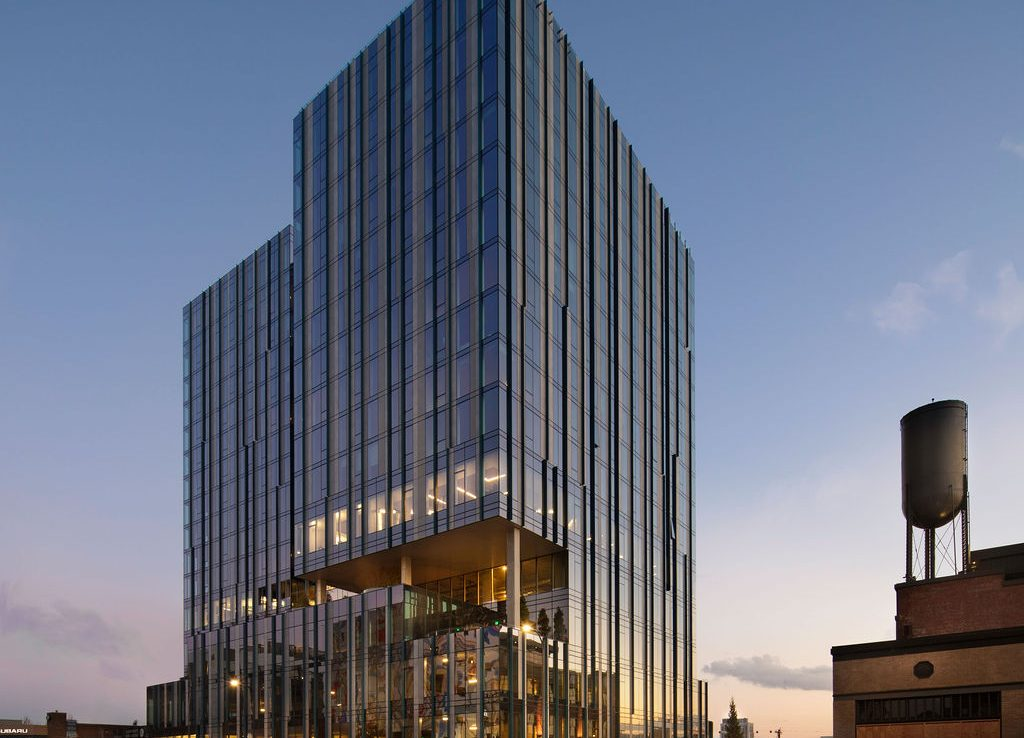 Modern office building for lease in Portland OR