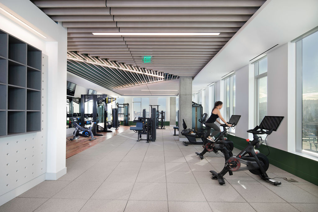 Commercial Office with Gym for lease