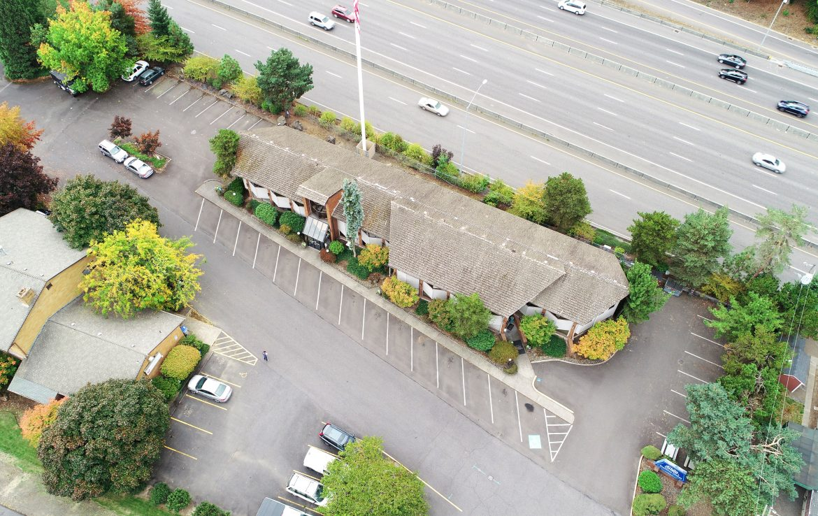 Arial View of Beaverton Office for Sale or Lease