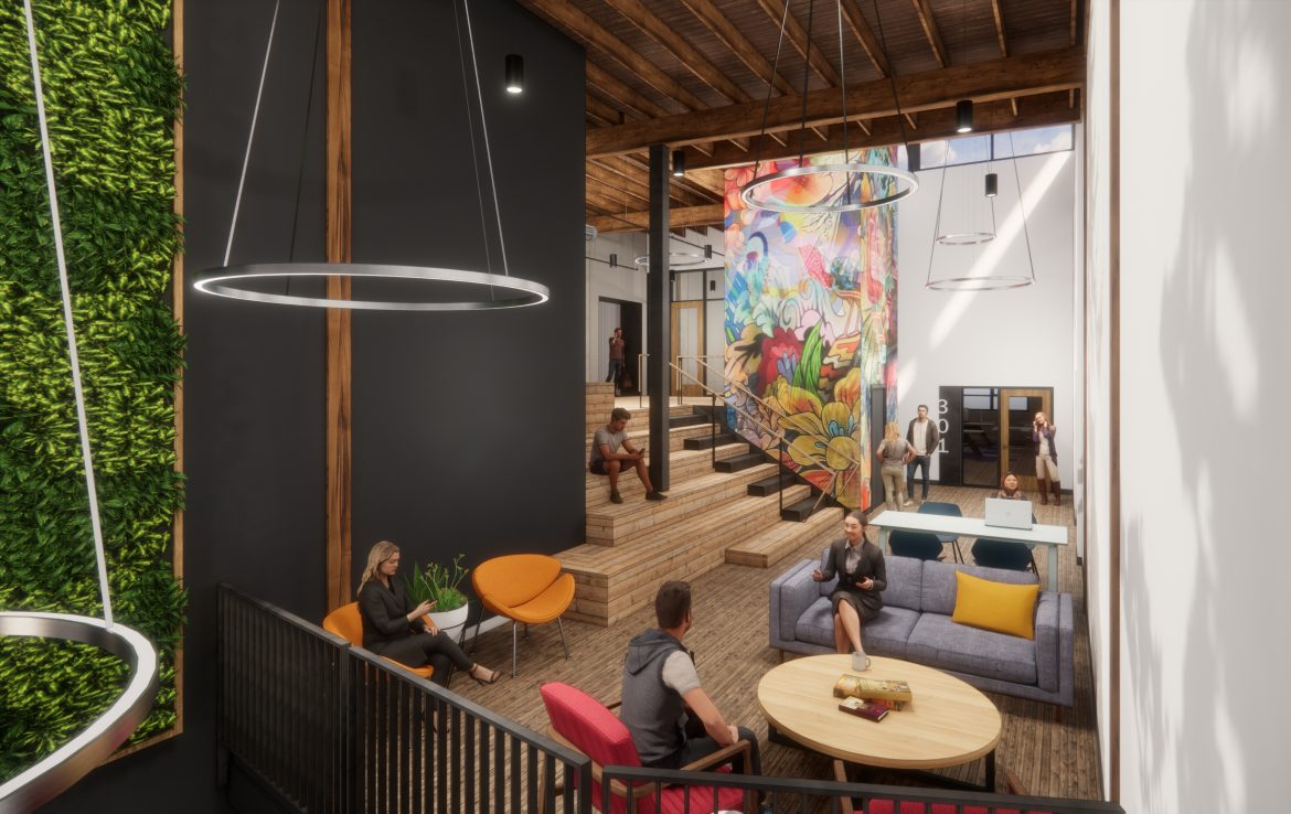 Renovated Building with Modern Workspaces for Lease in Portland