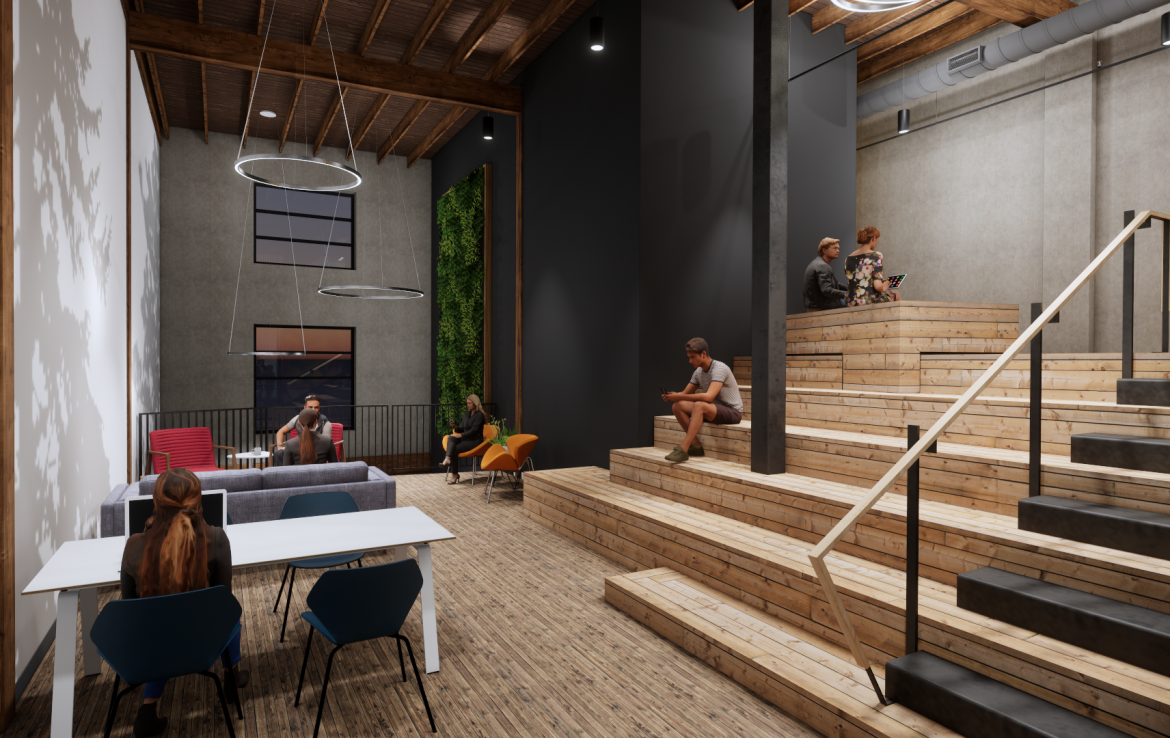 Modern Workspaces - Building for Lease in Portland OR