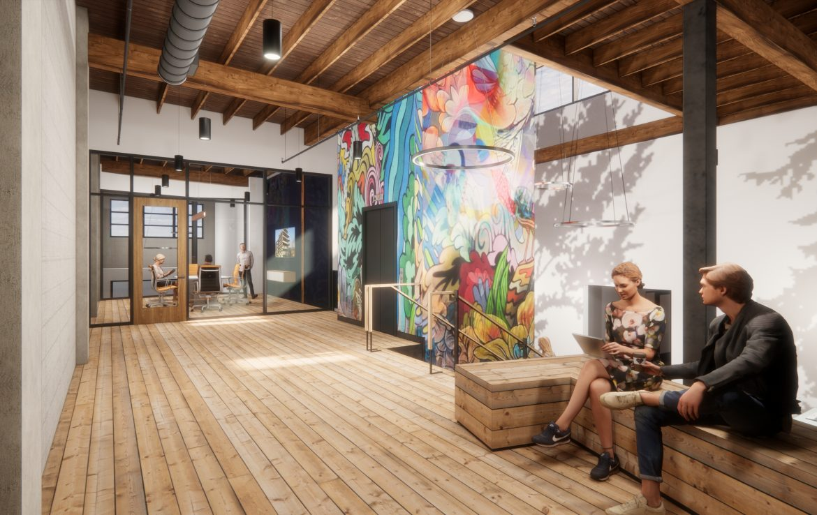 Commercial Real Estate - Renovated Building - Portland, OR